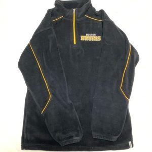 Reebok Boston Bruins players zip hoody